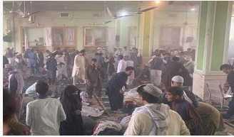 قندھار میں مسجد کے اندر دھماکہ، کم از کم 25 افراد جاں بحق ہونے کا خدشہ
