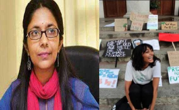 دشا روی کی گرفتار کے معاملے میں دہلی ویمن کمیشن نے دہلی پولس کو نوٹس بھیجا