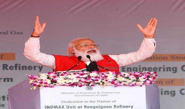 میری توجہ شمال مشرق کو ہندوستان کی نمو کا انجن بنانے پر ہے: مودی