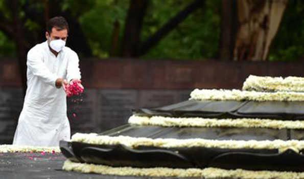 راجیو گاندھی سچائی ، ہمدردی اور ترقی کی علامت تھے: راہل