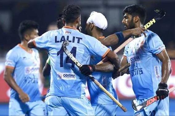 ہاکی ورلڈ کپ: ہندوستانی ٹیم نے 1-5 سے کینیڈا کو شکست دی