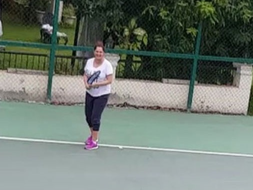 ثانیہ مرزا نے حاملہ ہوتے ہوئے کھیلا ٹینس، ویڈیو شیئر کیا