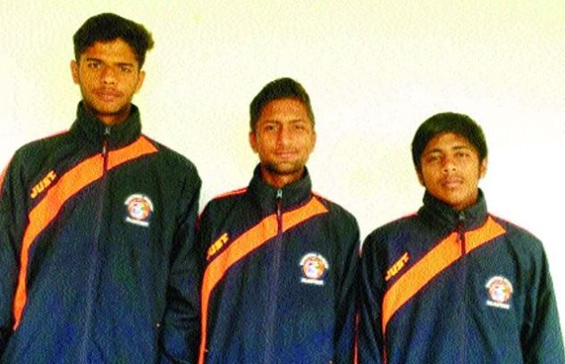 باسکٹ بال اکیڈمی کے تین کھلاڑیوں کی راجستھان پولیس میں تقرری