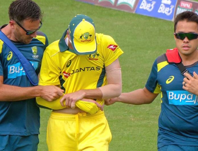ورلڈ کپ سے پہلے آسٹریلیا کے کھلاڑی رچرڈسن کا ہاتھ فیکچر