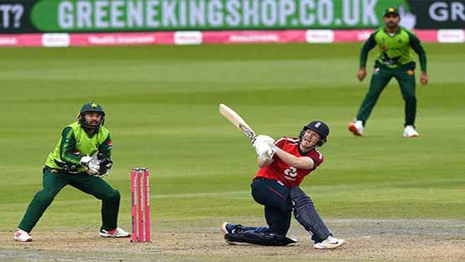 مورگن ،ملان کی طوفانی بلے بازی سے انگلینڈ کی جیت