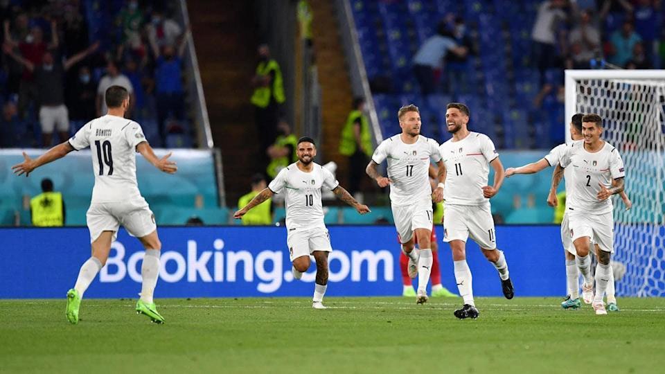 یورو کپ 2020 : اٹلی نے ترکی کو 0-3 سے شکست دی