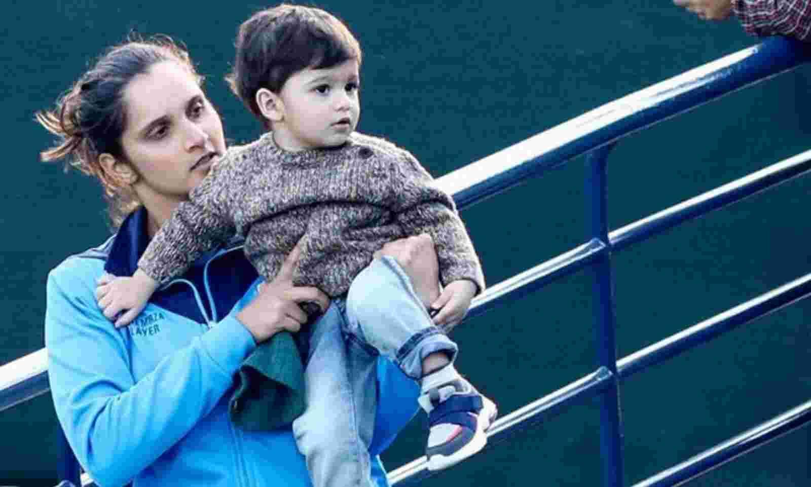کھیل کی وزارت نے ثانیہ مرزا کے 2 سال کے بیٹے کو ویزا دلانے کے لئے برطانیہ حکومت سے رابطہ کیا