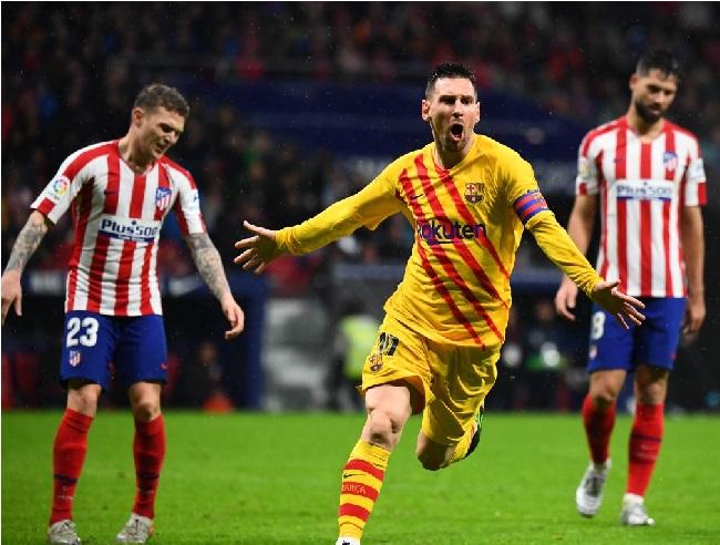 میسی کا 86 ویں منٹ میں شاندار گول، بارسلونا کی جیت