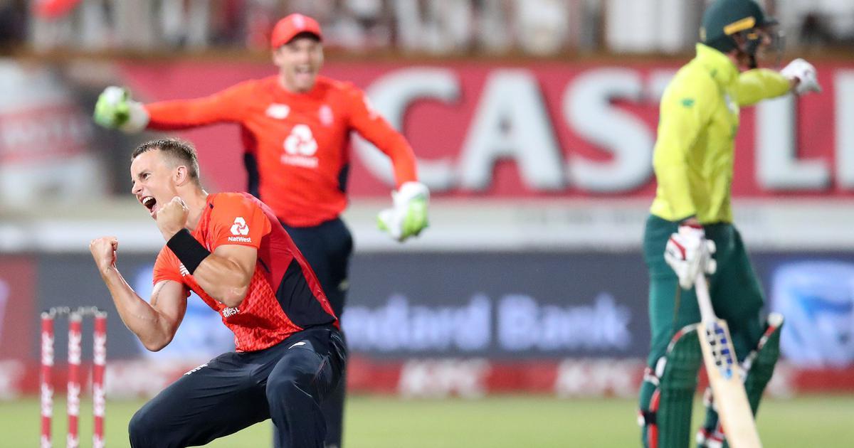دلچسپ مقابلے میں انگلینڈ نے جنوبی افریقہ کو شکست دی