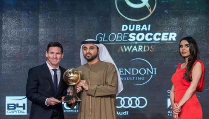 میسی بنے سب سے بہترین پلیئر آف 2015، عالمی فٹ بال ایوارڈ میں ملا خطاب