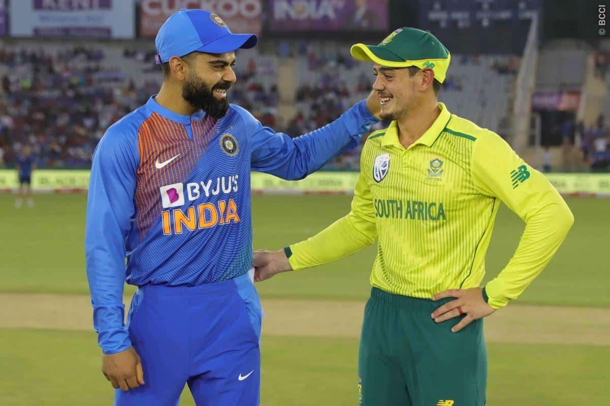 ہندوستانی ٹیم کا جنوبی افریقہ کا ٹی ٹوئنٹی دورہ منسوخ