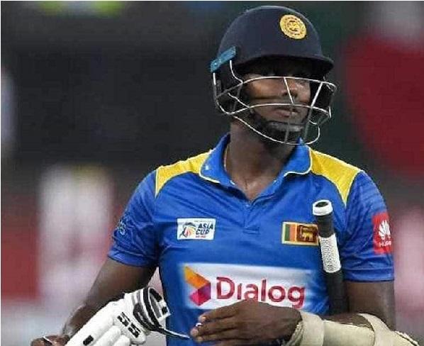 سری لنکا نے انگلینڈ کے خلاف ونڈے، ٹی 20 ٹیم سے میتھیوز کو باہر کیا