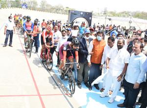 حیدرآباد کو کھیل کود کا مرکز بنانے مثالی شہر کے طورپر پہچان مل گئی:وزیر اسپورٹس سرینواس گوڑ