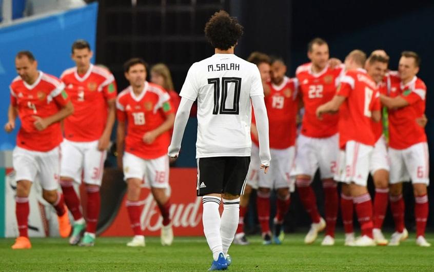 فیفا ورلڈ کپ: مصر کو شکست دے کر روس دوسرے دور میں داخل