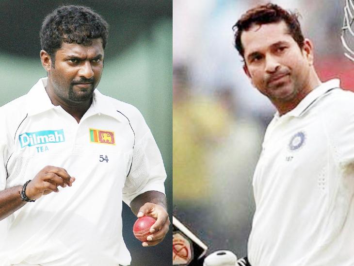 سچن تندولکر 21ویں صد کے عظیم ٹیسٹ بلے باز اور سری لنکا کے مرلی دھرن عظیم گیند باز