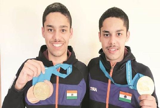 جونیئر 25 میٹر میں ہندوستان کو دو طلائی تمغے