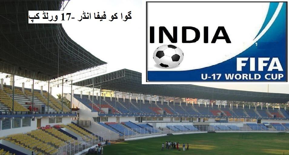 گوا کو فیفا انڈر -17 ورلڈ کپ کی میزبانی کے لئے ملی ہری جھنڈی