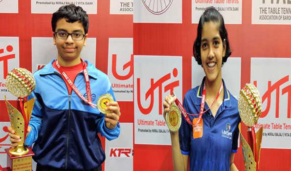 هاوش اور پريتھا نے جیتا انڈر -14 زمرے کا خطاب