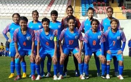 ازبکستان نے ہندوستانی خاتون فٹ بال ٹیم کو ہرایا