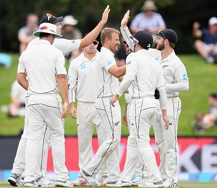 نیوزی لینڈ پہلی بار ٹیسٹ رینکنگ میں دوسرے نمبر پر