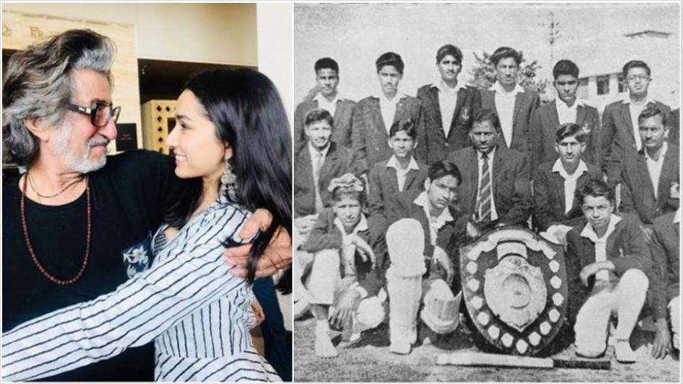شردھا کپو رنے شکتی کپور کی 55سال پرانی تصویرپوسٹ کی