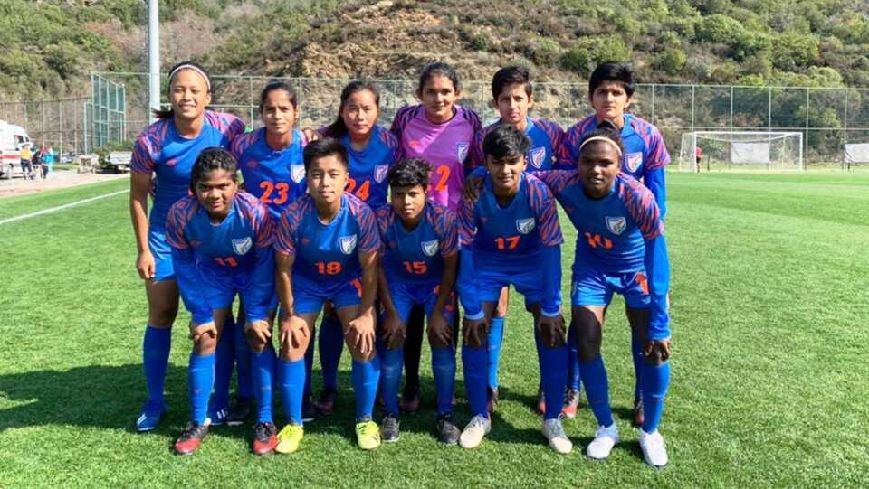 ہندوستانی خاتون انڈر -17 ٹیم نے رومانیہ کو شکست دی