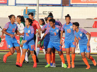 کوٹف کپ میں اسپین کے ہاتھوں ہندوستانی خاتون ٹیم کی شکست
