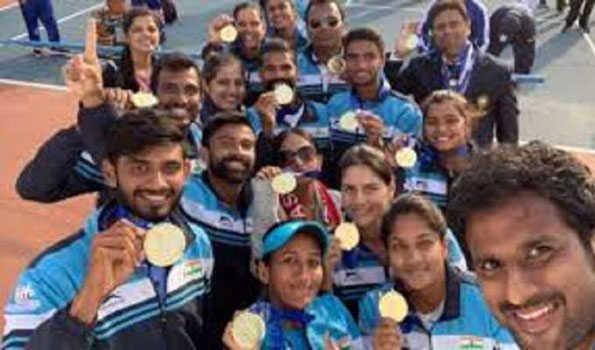 ہندستان نے ووشو میں جیتے 11 طلائی سمیت 17 تمغے