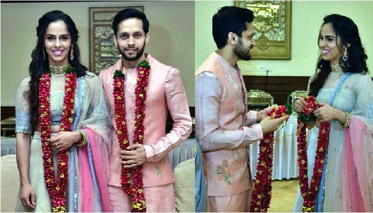 سائنا نہوال نے کھیلا اپنا بیسٹ میچ: سامنے آئی شادی کی تصویر