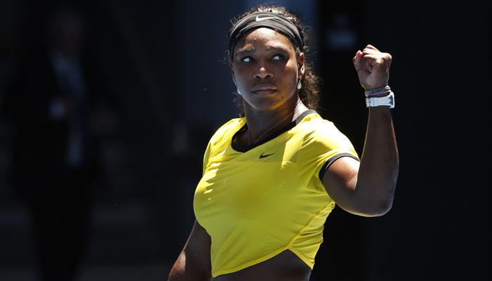 سرینا نے آسٹریلین اوپن کے پہلے راؤنڈ میں شاندار جیت درج کی