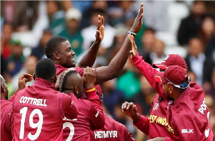 ویسٹ انڈیز نے پاکستان کو 7 وکٹ سے شکست دی