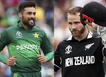 نیوزی لینڈ نے پاکستان کودیا 238 رنز کا ہدف