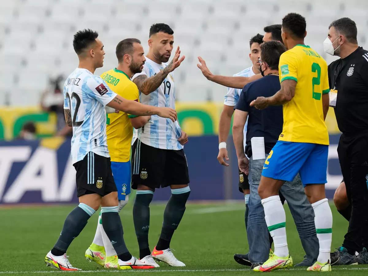 برازیل ۔ ارجنٹینا کے بیچ فیفا عالمی کپ کوالیفائر مقابلہ رد