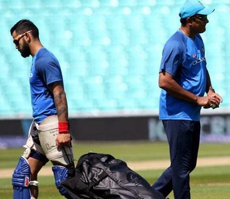 کوہلی کے ساتھ اختلافات! ٹیم انڈیا کے ساتھ ویسٹ انڈیز روانہ نہیں ہوئے کمبلے