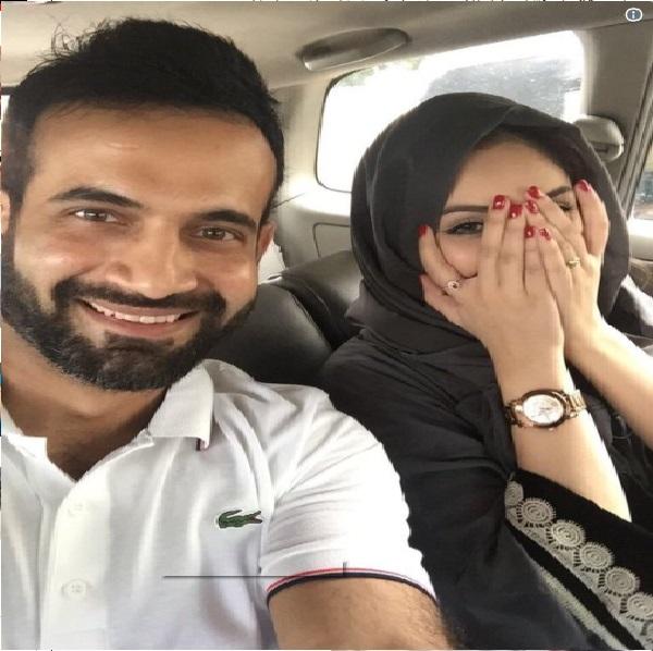 کرکٹر عرفان پٹھان نے شیئر کی بیوی کے ساتھ تصویر، فیس بک پر لوگوں نے کہا