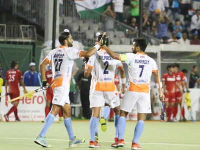 ہندستان نے چمپئنز ٹرافی میں جاپان کو 9-0 سے شکست دی