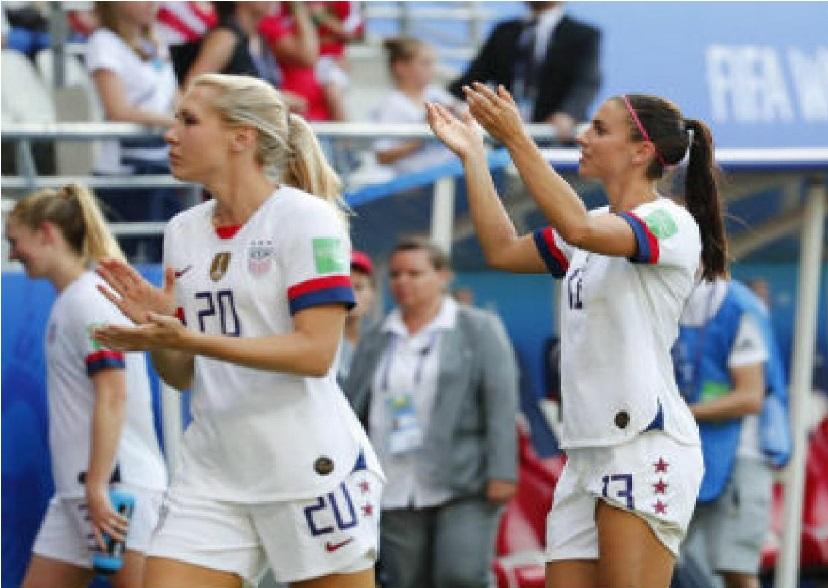 فیفا خواتین ورلڈ کپ: امریکہ اور سویڈن کوارٹر فائنل میں پہنچے، اسپین اور کینڈا ہارے