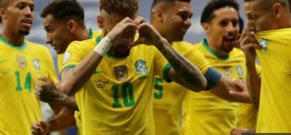 کوپا امریکہ فٹ بال ٹورنامنٹ 2021 کا آغاز برازیل کی وینزویلا پربڑی جیت کے ساتھ