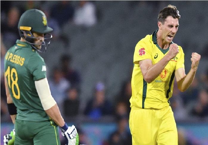 آسٹریلیا-افریقہ: 231 رن بنانے کے بعد آسٹریلیا نے جنوبی افریقہ کو 7 رن سے شکست دی