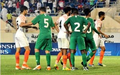 سعودی عرب سے 0-4 سے ہارا ہندستان