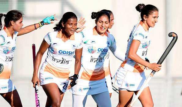 ہندوستانی خواتین ہاکی ٹیم نے تھائی لینڈ کو 5-0 سے ہرایا