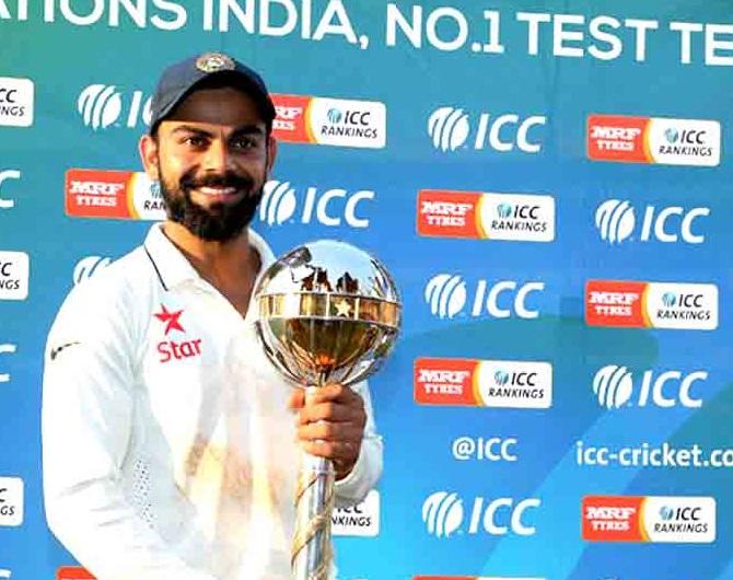 ہندوستان نے لگاتار تیسرے سال جیتا آئی سی سی ٹیسٹ چیمپئن