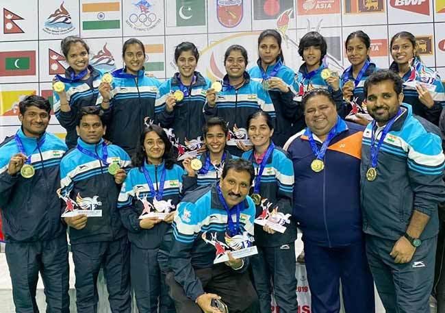 ہندستان نے بیڈمنٹن میں جیتے دونوں ٹیم طلائی