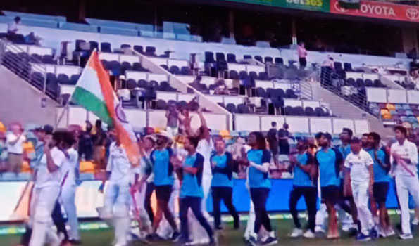 ہندستان نے برسبین میں تاریخ رقم کرتے ہوئے سیریز 1۔2 سے جیتی