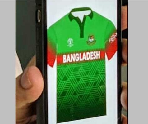 بنگلہ دیش کرکٹ بورڈ نےتنازعہ کے بعد جرسی میں تبدیلی کی
