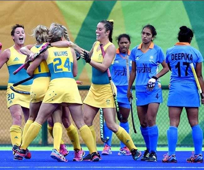 آسٹریلیا کے ساتھ ہاکی ٹیسٹ سیریز ہاری ہندوستانی کی خواتین ٹیم