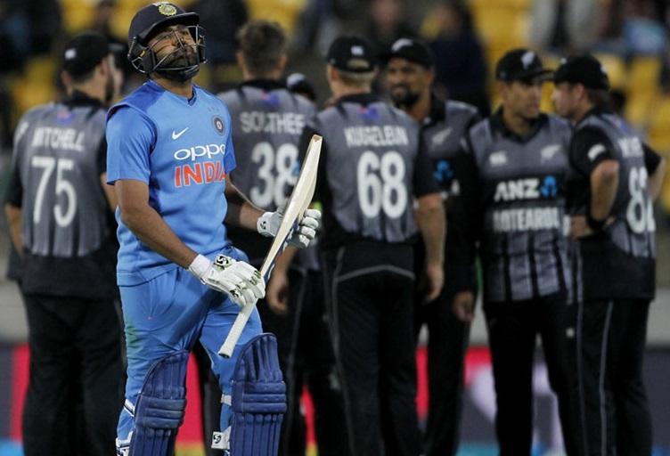 ہند-نیوزی لینڈ: ٹیم انڈیا کی بڑی ہار، نیوز لینڈ نے 80 رنوں سے جیتا ویلنگٹن ٹی 20