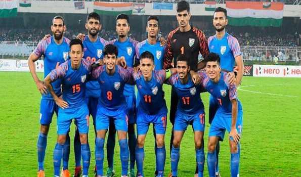 ہندوستانی فٹ بال ٹیم آج شام ورلڈ کپ کوالیفائر کے لئے دوحہ روانہ ہوگی