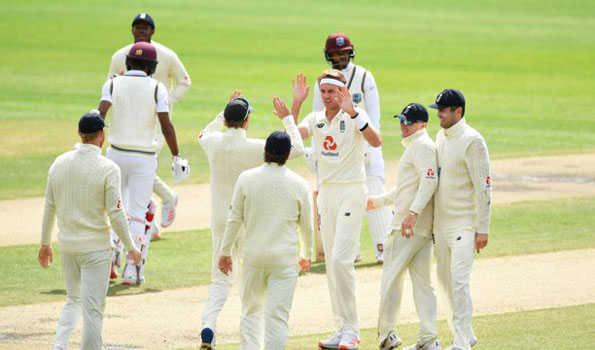 انگلینڈ نے ویسٹ انڈیز کو 269رنز سے ہراکر وزڈن ٹرافی جیتی