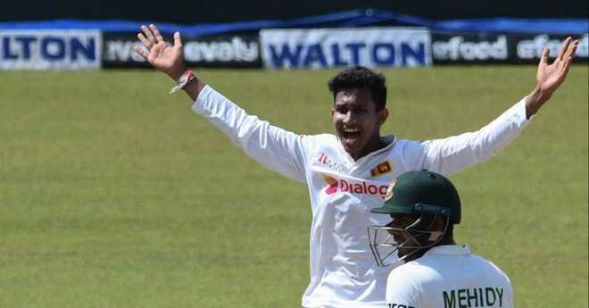 سری لنکا نے دوسرا ٹسٹ 209 رن سے جیتا